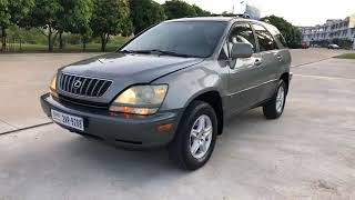 SecondHand Car | 2002 Lexus RX300 Full Option | Car Shoping