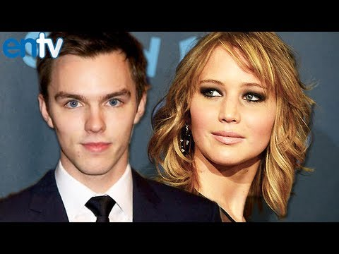Jennifer Lawrence and Nicholas Hoult Reunion