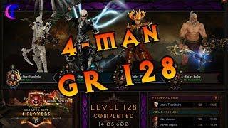 Diablo III Season 15 - 4man Greater Rift 128