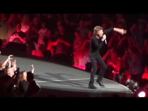 The Rolling Stones - Brown Sugar (at Honda Center 5/18/13)