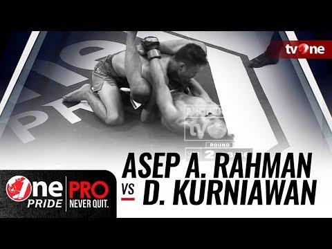 [HD] Asep Abdul Rahman vs Dedi Kurniawan - One Pride MMA