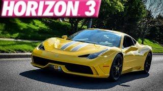Forza Horizon 3 : 275+ MPH Ferrari 458 Speciale Build