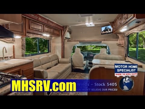 2013 Four Winds Bunk Model Class C RV Review at Motor Home Specialist #5405