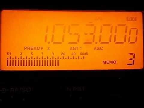 1053 khz - MEDIUM WAVE - Radio Libya    Tripoli