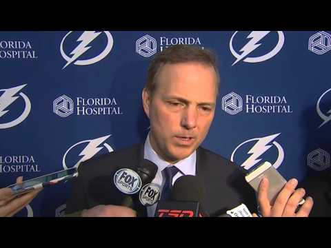 Jon Cooper -- Tampa Bay Lightning at Ottawa Senators 02/08/2016