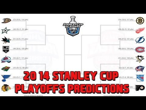 2014 NHL Stanley Cup Playoffs Predictions