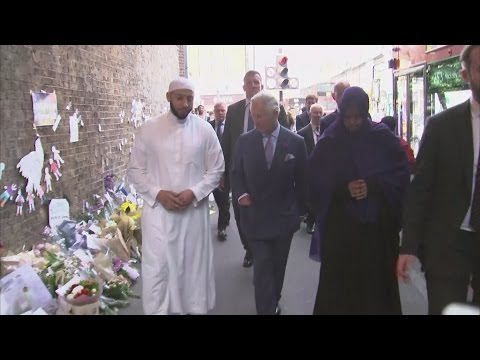 Prince Charles visits scene of Finsbury Park attack