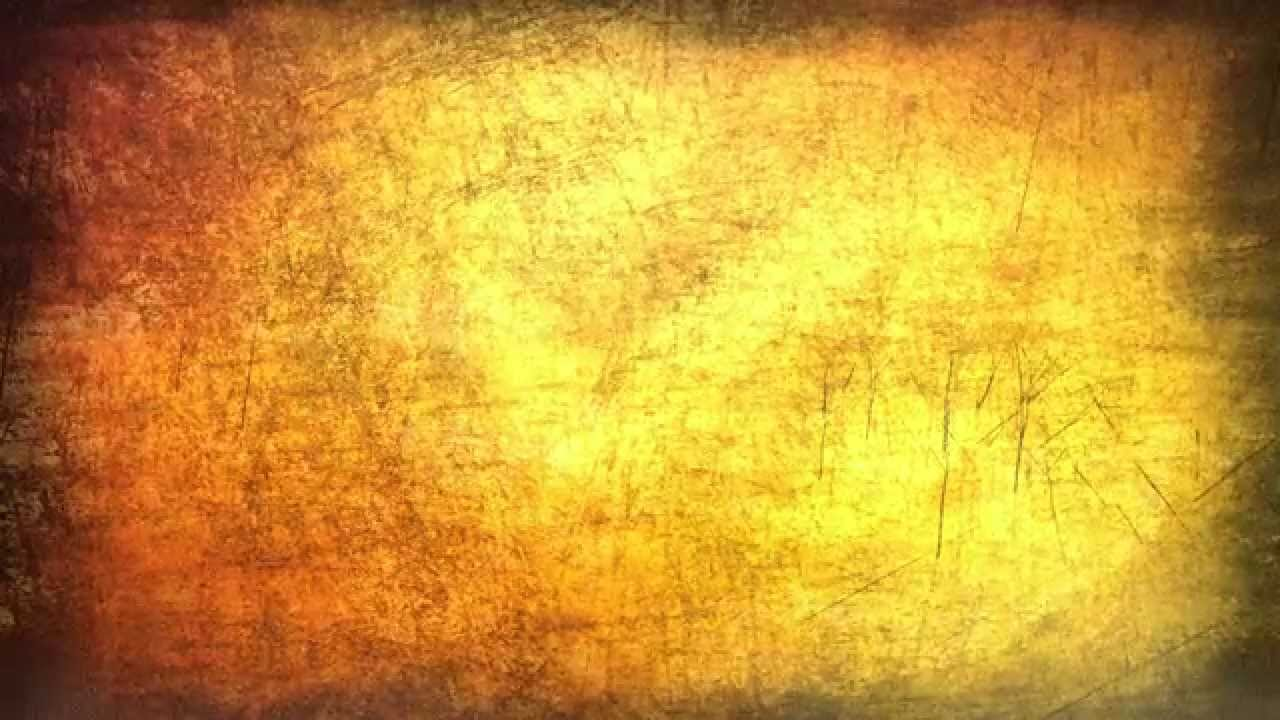 Yellow Grunge Texture Free Motion Background