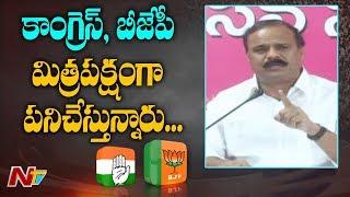 TRS MLC Karne Prabhakar Slams Opposition Parties Over Secretariat And Assembly Buildings