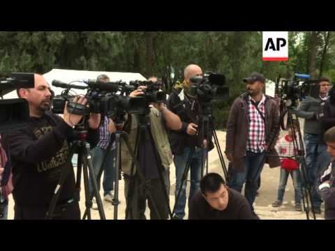 United Nations' humanitarian chief Valerie Amos visits Syrian refugee camp in Suruc