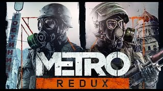 Metro: Last Light Redux All Cutscenes (Game Movie) PS4 1080p HD