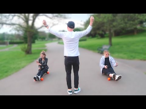 BOOSTED BOARD RACE