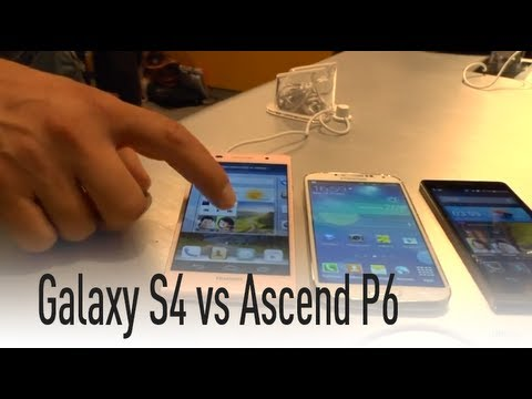 Huawei Ascend P6 vs Galaxy S4 by HDblog