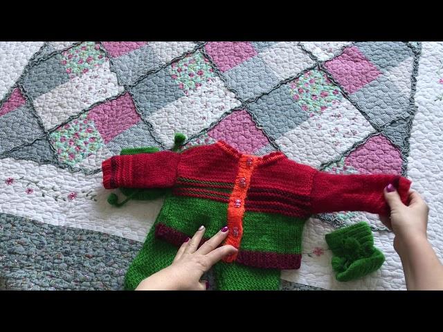 Обзор готовых изделий - вязание спицами - Часть 1