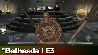 The Elders Scrolls: Blades E3 2018 Gameplay Demo   Bethesda Press Conference