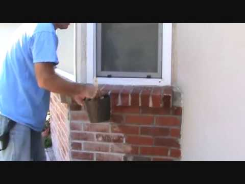 how to apply sealer to a brick wall part 1 youtube. Black Bedroom Furniture Sets. Home Design Ideas
