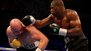 Daniel Dubois is ice cold! Highlights of him jabbing Nathan Gorman's head off
