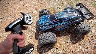 CARRINHO DE CONTROLE REMOTO NA TERRA!! RC Car Drifting JLB Racing Cheetah 21101