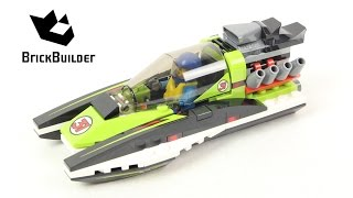 Lego City 60114 Race Boat - Lego Speed Build