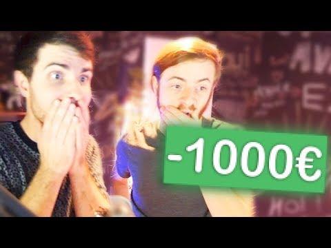 J'AI FAIT PERDRE 1000€ À UN POTE ...