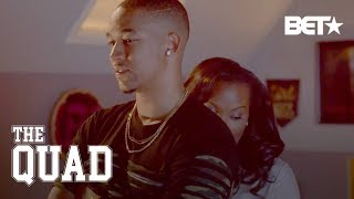Cedric Almost Cheats On His Girlfriend, Ebony Curves It All | The Quad