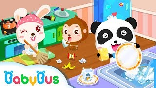 My Baby Gets Organized | Kiki and Miumiu | Kids Games | Panda Cartoon | Game Trailer | BabyBus Game