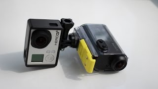 GoPro vs Sony Action Cam. Стабилизация. HelpfulDevices