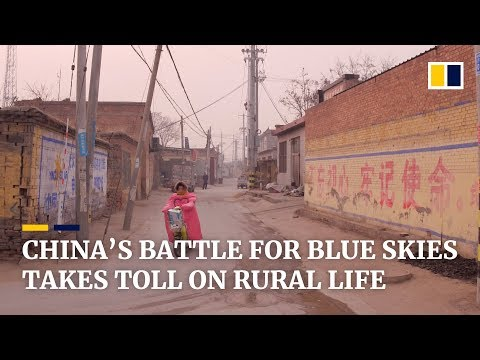 China's battle for blue skies takes toll on rural life