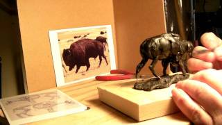 Master Of The Plains - The Creation Of a Bull Buffalo in Wax
