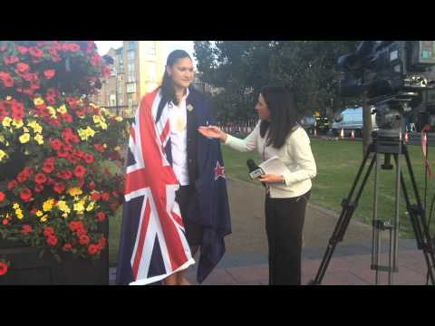 Valerie Adams announced as flag bearer for New Zealand - Glasgow 2014