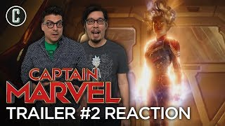 Captain Marvel Trailer #2 Reaction and Review