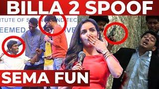 Thala AJITH'S BILLA 2 MASS Scene Recreated | RJ Balaji | Priya Anand