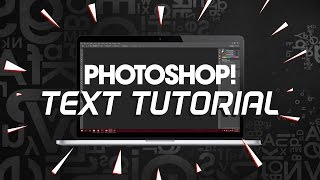 Photoshop Text Tutorial! Text aroung shapes, images inside texts!10 Minute School Photoshop Series
