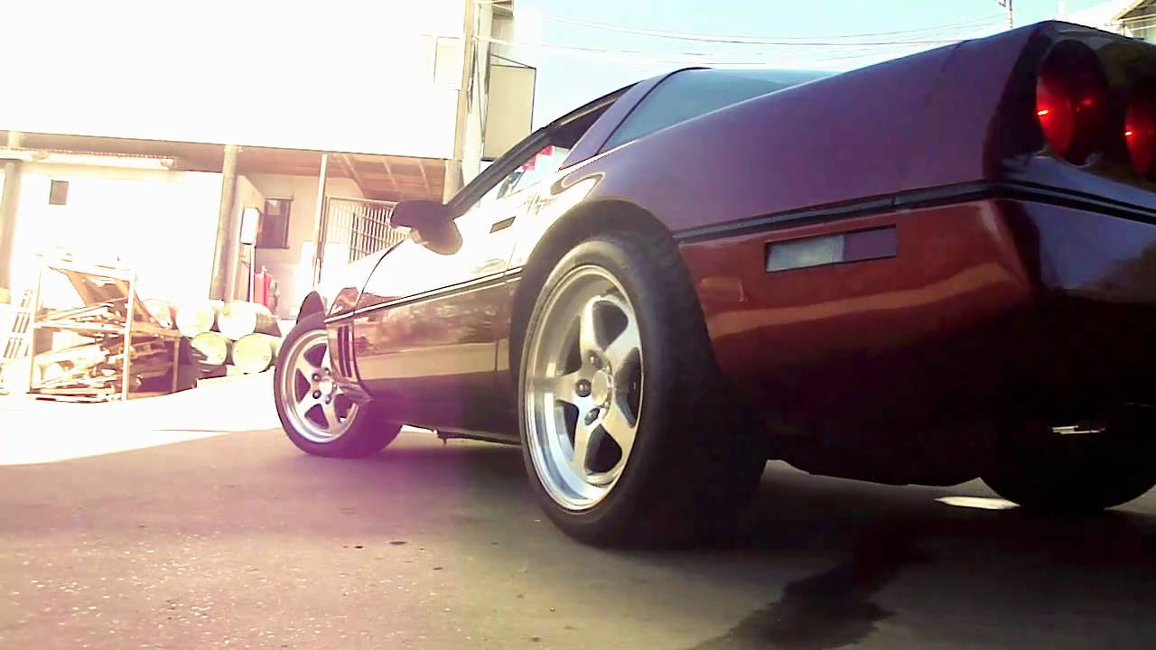 1987 Corvette C4 AFR 195 Heads Super Ram LPE 219 Cam