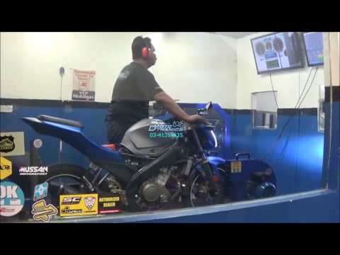 Yamaha FZ150i PowerTRONIC ECU Dyno Tuning - Motodynamics Technology Malaysia