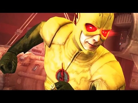 Injustice: Gods Among Us - Reverse Flash Super Attack Moves