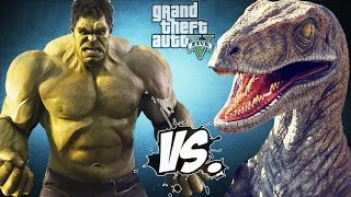 HULK VS RAPTOR - EPIC BATTLE