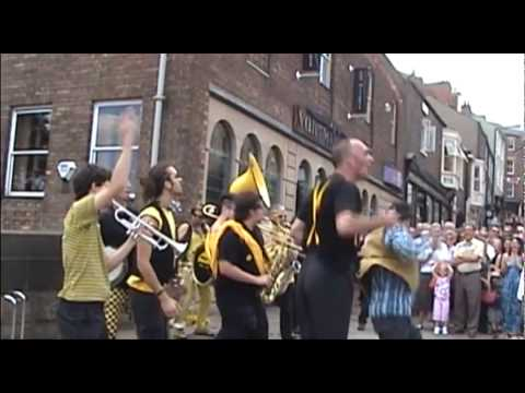 Thumbnail of video Rage Against The Machine - Killing in the Name - Always Drinking Marching Band in Durham