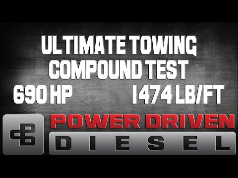Dyno Test: Power Driven Diesel Ultimate Towing Compound Turbo   Power Driven Diesel