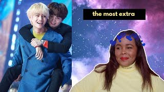 BTS Being Chaotic Crackheads in Award Shows REACTION (BTS REACTION)