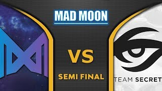 Nigma vs Secret [EPIC] Semi Final WePlay! Mad Moon 2020 Highlights Dota 2
