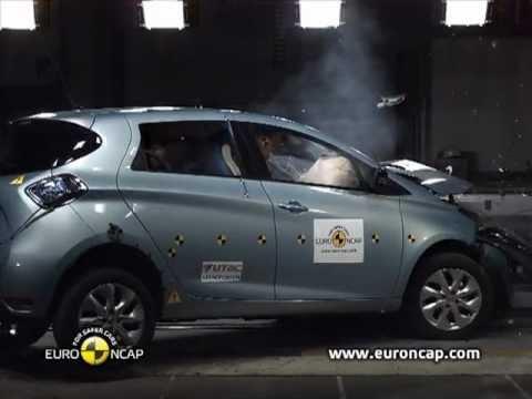 Euro NCAP | Renault ZOE | 2013 | Краш-тест