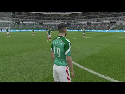 FIFA 15 - Mexico Player Faces - Next-Gen Gameplay 1080p (PS4/Xbox One)
