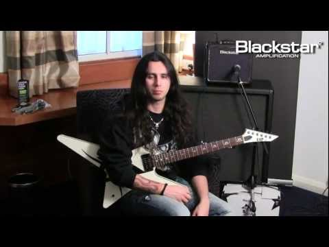 Gus G (Ozzy Osbourne/ Firewind) demonstrates his Blackstar HT 1 @ Sound Service TV