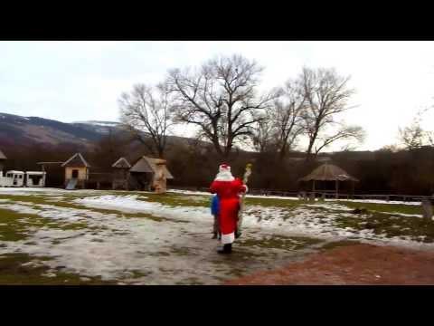 "Лошади и хрюшка, ""хороший"" Дед Мороз и Снегурка! Happy New Year!)"