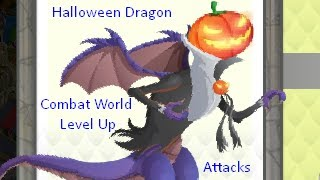 Dragon City-Halloween Dragon!
