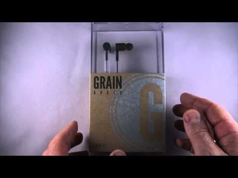 Grain Audio Wooden In-Ear Headphones