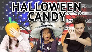 German Kids try Halloween Treats from the US