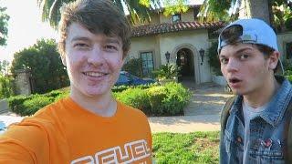 MY BEST FRIEND VISITS THE FAZE HOUSE!