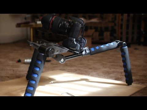 Spider Steady Rig. DSLR Rig Movie Kit. adjustable shoulder rig Review - DSLR FILM NOOB